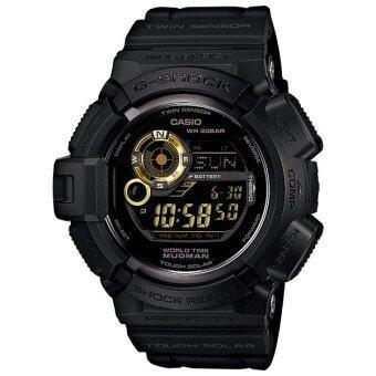 ประเทศไทย Casio G-Shock นาฬิกาข้อมือ G-9300GB-1 (Black/Gold)