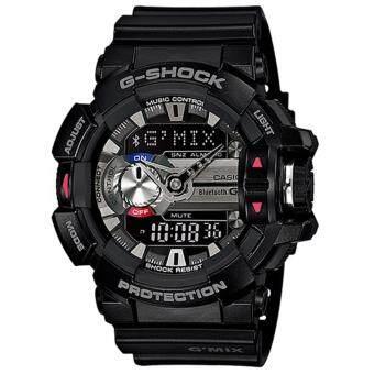 Casio G-Shock นาฬิกาข้อมือผู้ชาย สายเรซิ่น รุ่น G'MIX GBA-400-1A - สีดำ