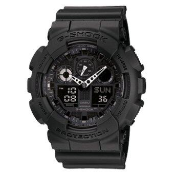 Casio G-Shock GA-100-1A1 สีดำ(free size)