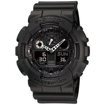 Casio G-shock นาฬิกาข้อมือ GA-100-1A1V - Black