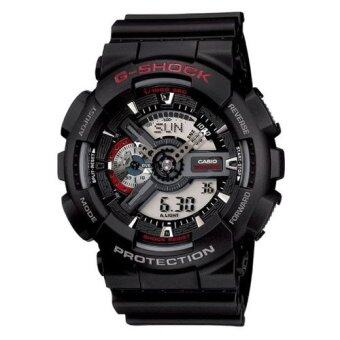 Casio G-Shock นาฬิกาข้อมือชาย รุ่น Ga-110-1Adr (สีดำ)