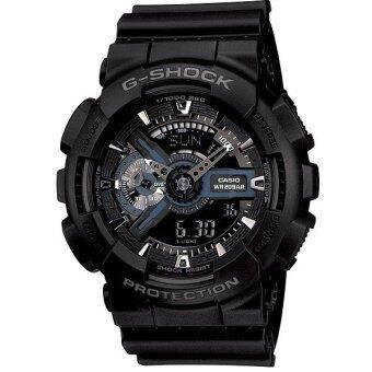 CASIO G-Shock นาฬิกาข้อมือผู้ชาย GA-110-1BDR ประกัน cmg