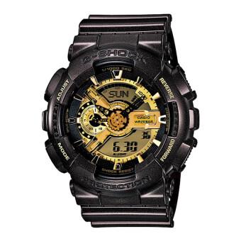 Casio G-Shock นาฬิกาข้อมือ รุ่น GA-110BR-5ADR สีดำ/ทอง (Black/Gold)