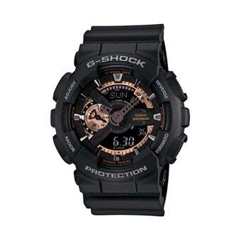Casio G-Shock นาฬิกาข้อมือผู้ชาย รุ่น GA-110RG-1ADR (สีดำ)