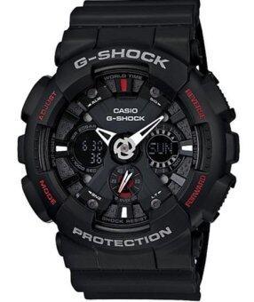 Casio G-Shock นาฬิกาข้อมือผู้ชาย สายเรซิ่น รุ่น GA-120-1ADR (สีดำ)