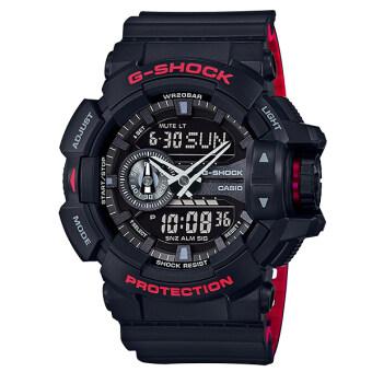 Casio G-Shock นาฬิกาข้อมือผู้ชาย สายเรซิ่น รุ่น GA-400HR-1A - สีดำ