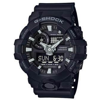 CASIO G-SHOCK รุ่น GA-700-1BDR (CMG) นาฬิกาข้อมือ สายเรซิ่น สีดำ