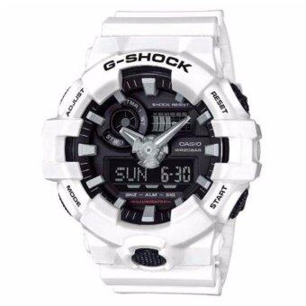 Casio G-Shock GA-700-7 World Time Watch Black - intl