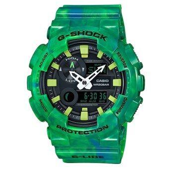 2561 CASIO G-SHOCK นาฬิกาข้อมือผู้ชาย สายเรซิ่น รุ่น GAX-100MB-3ADR