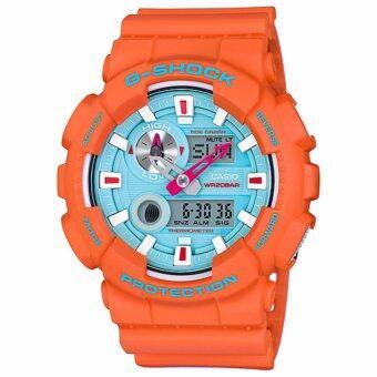 Casio G-Shock นาฬิกาข้อมือผู้ชาย สายเรซิ่น รุ่น GAX-100X-4A IN4MATION LIMITED EDITION