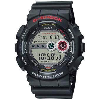 ซื้อ/ขาย Casio G-shock นาฬิกาข้อมือผู้ชาย สีดำ สายเรซิ่น รุ่น GD-100-1ADR