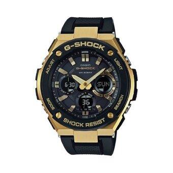 Casio G-Shock นาฬิกาข้อมือผู้ชาย รุ่น GST-S100G-1ADR (สีดำ-ทอง)