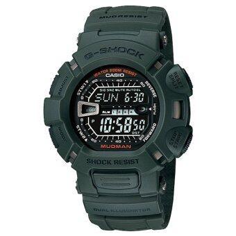 ราคา Casio G-Shock Master of G Mudman G-9000-3 (Green)