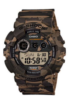 Casio G-Shock Men's Camouflage Resin Strap Watch GD-120CM-5