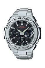 Casio G-Shock Men's Silver Metal Strap Watch GST-S110D-1A