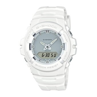 Casio G-Shock Men's White Resin Strap Watch G-100CU-7A - intl