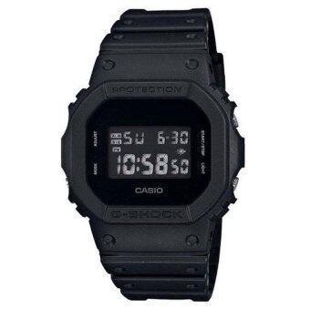 CASIO G-SHOCK นาฬิกาข้อมือผู้ชาย รุ่น DW-5600BB-1 (สีดำ)
