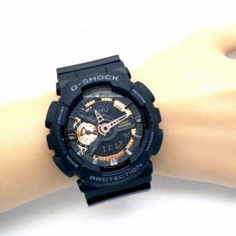 Casio G-Shock Sports Fashion Watches Analog Digital Resin Band -intl