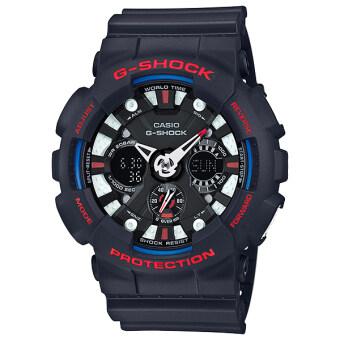 Casio นาฬิกาข้อมือ G-shock Tri Color Ana-Digital - รุ่น GA-120TR-1 Limited