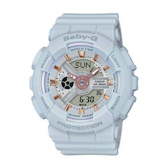 Casio G-Shock Women's Resin Strap Watch BA-110GA-8A - intl