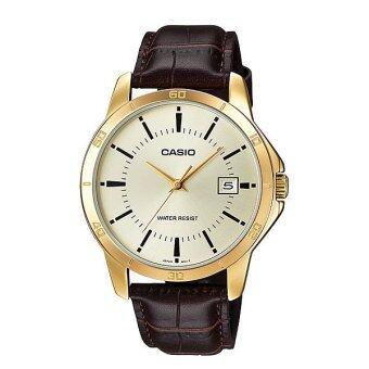 CASIO Gent quartz นาฬิกาผู้ชาย รุ่น MTP-V004GL-9AUDF