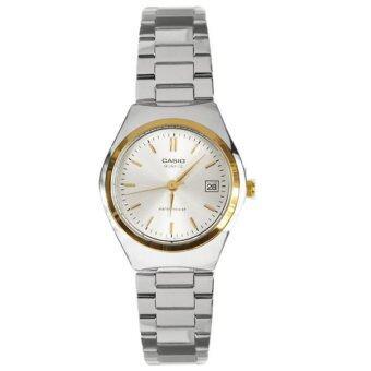 Casio Lady นาฬิกาข้อมือ รุ่น LTP-1170G-7A (Silver)