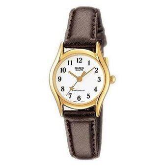 Casio นาฬิกาข้อมือ สายหนัง รุ่น LTP-1094Q-7B4RDF