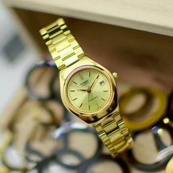 CASIO นาฬิกาข้อมือผู้หญิง สีทอง รุ่น LTP-1170N-9ARDF