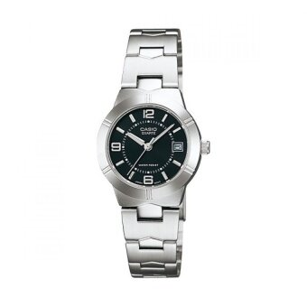 Casio นาฬิกาข้อมือ รุ่น LTP-1241D-1ADF - Silver/Black
