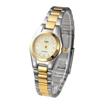 Casio นาฬิกาข้อมือ คุณผู้หญิง รุ่น LTP-1253SG-9A (สินค้าขายดี)