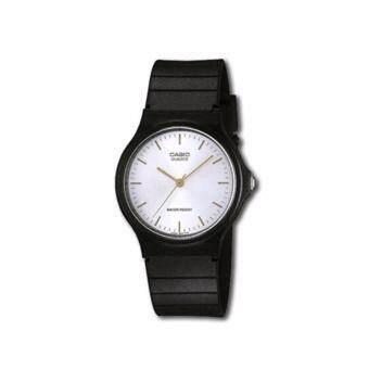 ราคา นาฬิกาข้อมือสำหรับผู้ชาย Casio รุ่น MQ-24-7E2LDF (Black/White)
