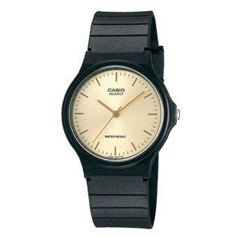 Casio นาฬิกาข้อมือ รุ่น MQ-24-9ELDF (Black/Gold)