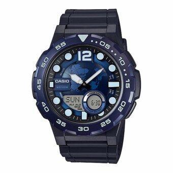 รีวิวพันทิป Casio Standard นาฬิกาข้อมือ 10 year battery รุ่น AEQ-100W-2AV