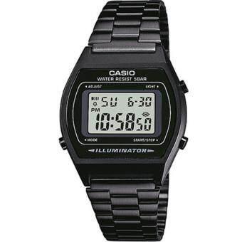 Casio Standard นาฬิกาข้อมือผู้หญิง สายเหล็ก รุ่น B640WB-1A - สีดำ