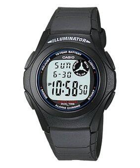 Casio Standard นาฬิกาข้อมือแท้ รุ่น F200W (Black)