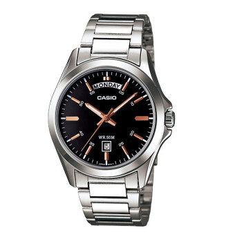 CASIO นาฬิกา standard gent MTP-1370D-1A2VDF