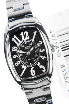 Casio Standard นาฬิกาข้อมือผู้หญิง สายสแตนเลส รุ่น LTP-1208D-1BDF - เรือนเหล็ก/หน้าดำ รีวิว