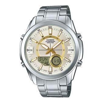 ซื้อ/ขาย นาฬิกาข้อมือ Casio Standard men สายแสตนเลส รุ่น AMW-810D-9A