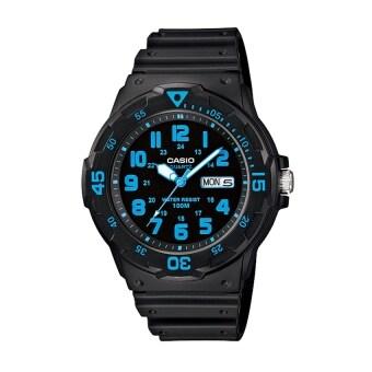 ซื้อ/ขาย Casio Standard นาฬิกาข้อมือสายเรซิ่น สีดำ รุ่น MRW-200H-2B