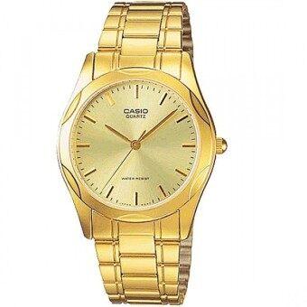 จัดโปรโมชั่น Casio Standard นาฬิกาข้อมือสุภาพบุรุษ สายสแตนเลส รุ่น MTP-1275G-9ADF - สีทอง