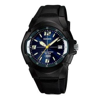 Casio Standard นาฬิกาข้อมือ รุ่น MW-600F-2A (Black/Blue)