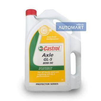 ขอเสนอ CASTROL น้ำมันเกียร์ AXLE GL-5 80W-90 5ลิตร