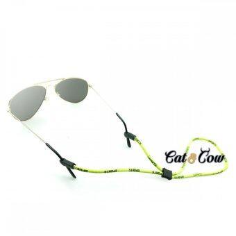 Cat & Cow รุ่น LC10-LG, #สายคล้องแว่นตา Eyewear Retainerสีเขียวอ่อน