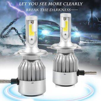 CHEER C9 H4 110W 20000LM LED Light Headlight Kit Car High Low Beam Bulb Kit 6000K Fog Lamp Silver - intl