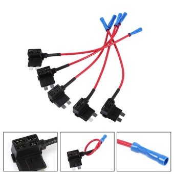 Harga Circuit Medium Tap Piggy Back Blade Fuse Boxe Holder ATO ATC - intl