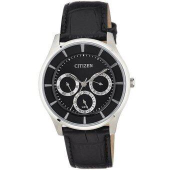 2561 นาฬิกา CITIZEN classic ควอทซ์ สายหนัง AG8350-03E