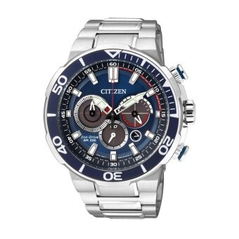 Citizen Eco-Drive Men's Watch Silver Stainless Steel StrapCA4250-54L