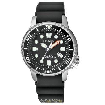 CITIZEN Ladies Mini ProMaster Eco-Driver Watch สายยาง Silver/Black รุ่น EP6050-17E