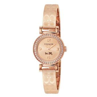 COACH Women's Madison Fashion Bangle Watch Rose Gold/Rose GoldWatch 14502203