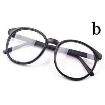 Cocotina นิววินเทจแฟชั่นเรโทรเพศหญิงชายรอบกรอบแว่นตาแว่นตา-เคลือบสีดำ